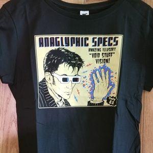 10th Doctor 3D Specs Women's Tshirt